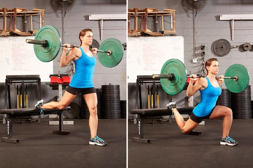 13. Bulgarian Split Squat