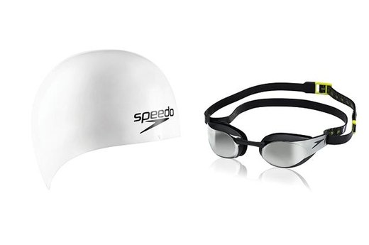 Speedo FastSkin3 Cap and Goggle System