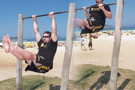 Weeks 7-8: Pike Pull-Ups