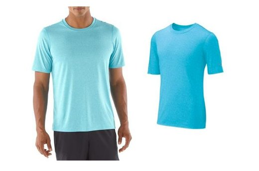 10. Brooks Men's EZ T III Moisture-Wicking T