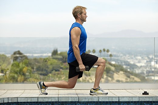 8. Stationary Lunges