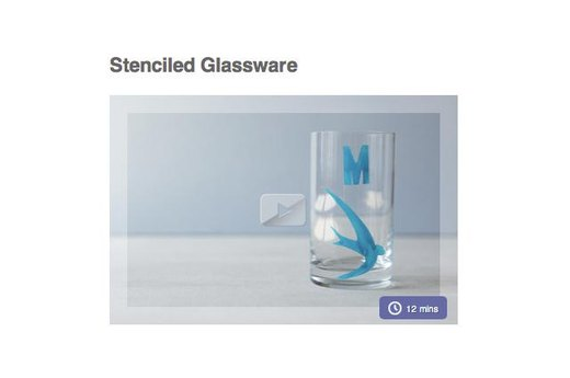 3. DRINK YOUR DAILY WATER IN PERSONALIZED GLASSWARE
