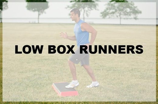 6. Low Box Runners