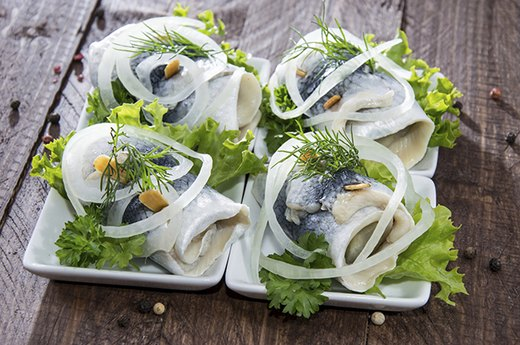 6. Herring and Pickled Herring