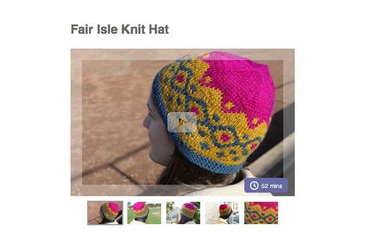 12. MAKE YOUR OWN KNIT HAT