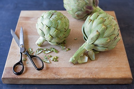 Artichokes, Part 1: Prep Work