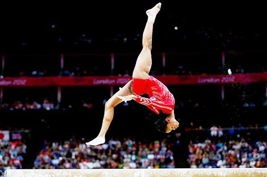 \#1. The Gracious, Graceful Gymnast Gabby Douglas
