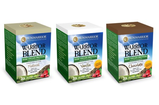 12. Vegan: Sunwarrior Warrior Blend Raw Vegan Protein