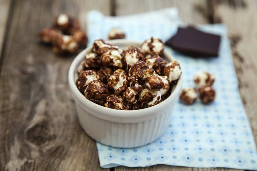 3. Peanut Butter and Chocolate Popcorn
