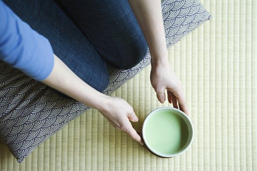11. Drink Matcha Tea