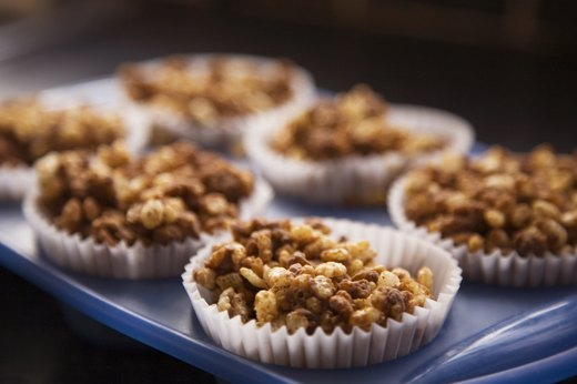 4. Protein-Packed Recovery Rice & Oat Crispy Treats