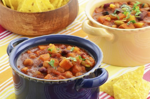 1. Butternut Squash and Black Bean Chili