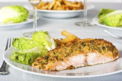 7. Chia Seed Crusted Fish