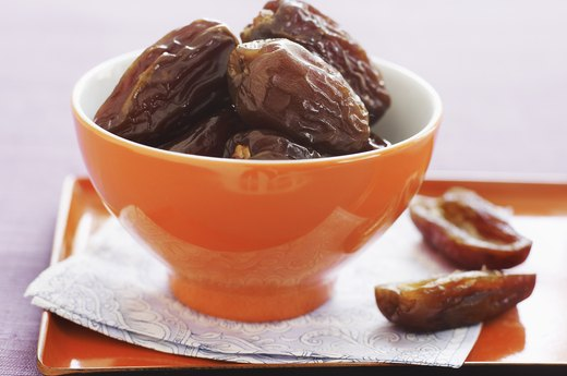 7. Almond Butter-Stuffed Dates