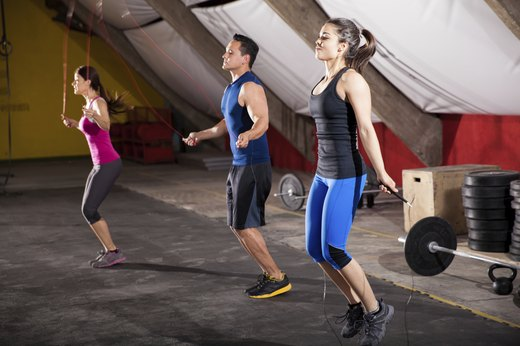 2. CrossFit Builds Cardiovascular Fitness.