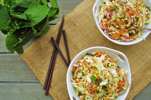 2. Asian-Style Coleslaw