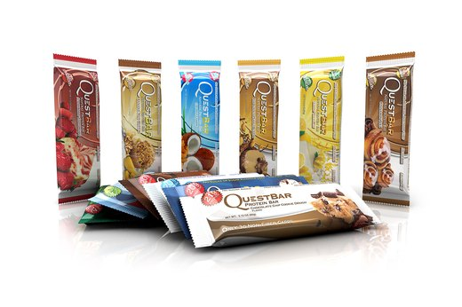 9. LOW-CARB: Quest Bar