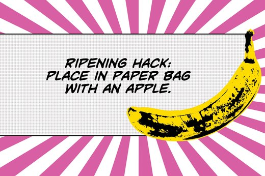 16. Trick to Ripen Bananas Quickly at Home
