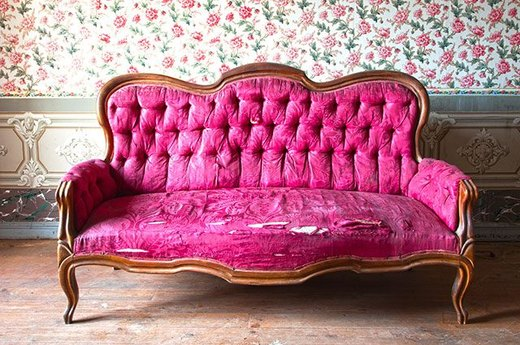 29. Old Couches and Sofas