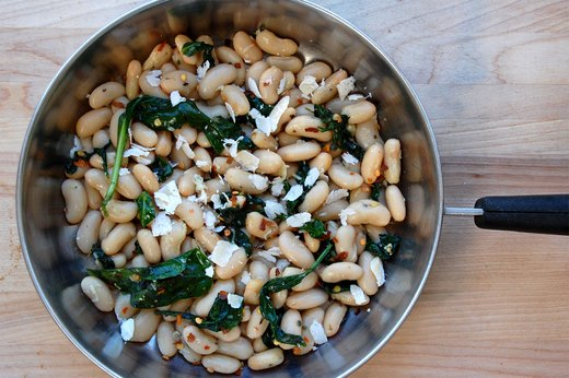 7. Italian White Beans and Spinach