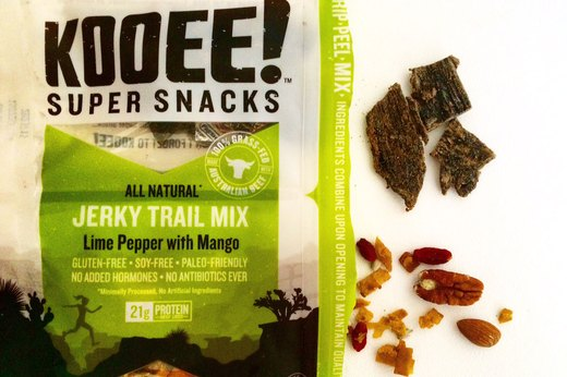 BEST: Kooee! Super Snacks Lime Pepper With Mango Jerky Trail Mix