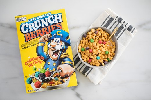 Worst Cereal No. 1: Cap'n Crunch's Crunch Berries