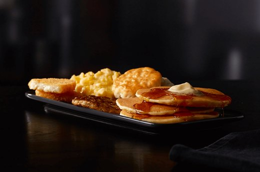 10. Big Breakfast with Hotcakes, USA