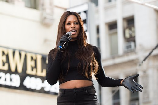 8. Laverne Cox, actress, producer and LGBTQ advocate