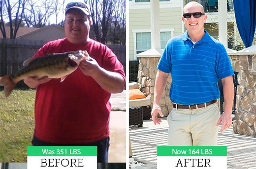 David M. Lost 187 Pounds!