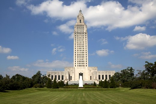 1. Baton Rouge, Louisiana – 44.7