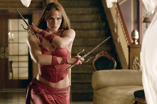 "5. Jennifer Garner in ""Elektra"""