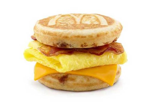 WORST: McDonald's Sausage, Egg & Cheese McGriddle