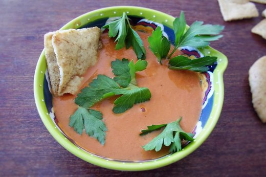 10. Middle Eastern Spiced Creamy Tomato Soup