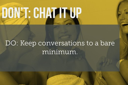 5. DON'T Have an In-Depth Conversation