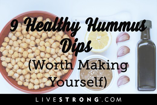 9 Healthy Hummus Dips Worth Making Yourself