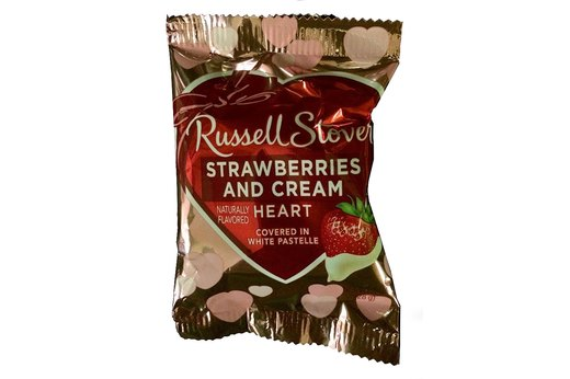 8. Russell Stover Strawberries and Cream Heart