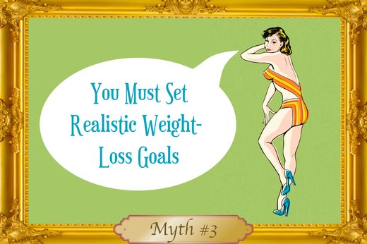 MYTH #3: You Must Set Realistic Weight-Loss Goals