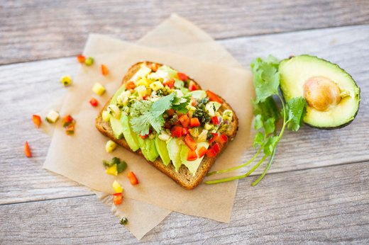 3. Tropical Avocado Toast