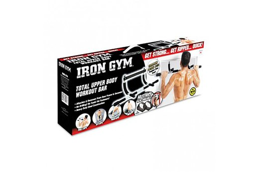 19. Iron Gym Total Upper Body Workout Bar