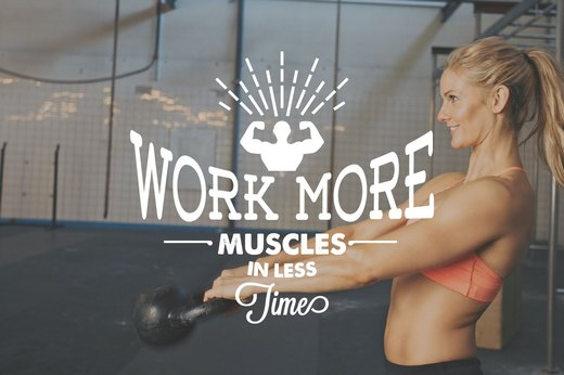 12. Work More Muscles in Less Time