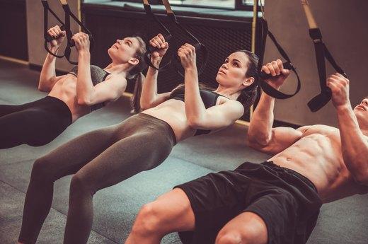 4. TRX Workout