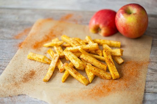 9. Sweet Apple Fries