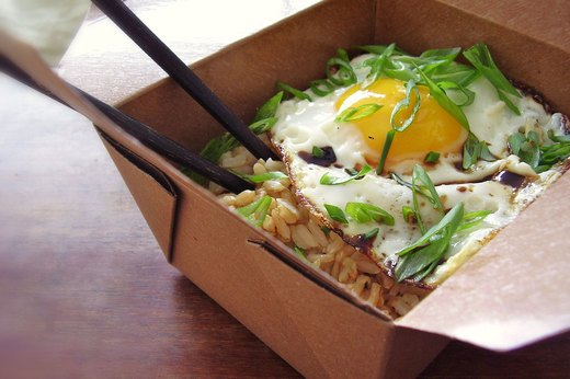 3. Easy Asian-Style Rice With Egg
