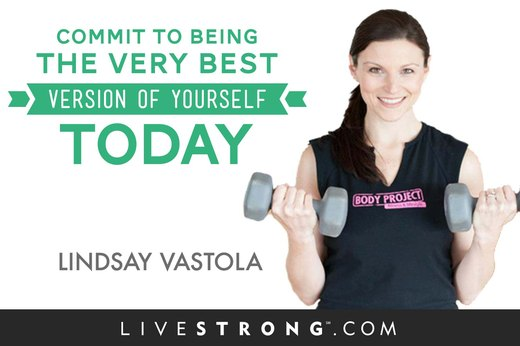"""Commit to being the very best version of yourself today!"""