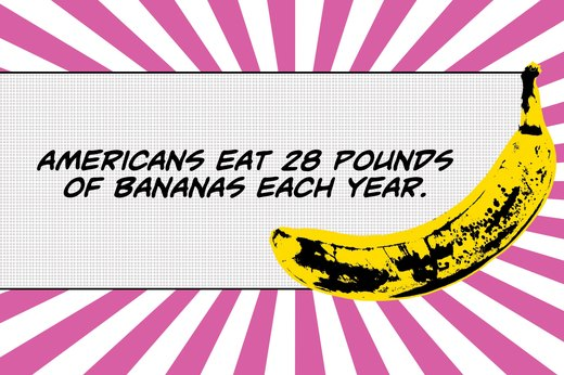 6. 96 Percent of American Households Purchase Bananas Each Month