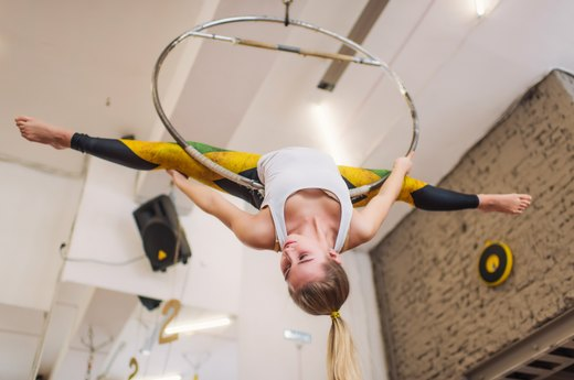 8. Like Gymnastics? Try a Circus Fitness Class
