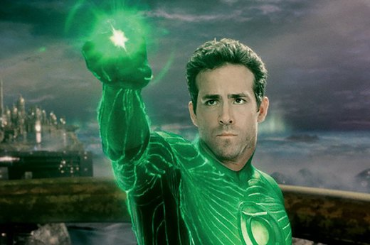"12. Ryan Reynolds in ""Green Lantern"""