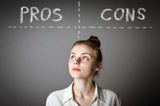 8. Make a List of Pros and Cons to Getting Healthy