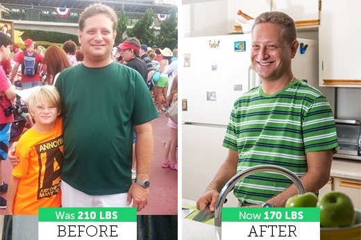 Evan S. Lost 40 Pounds!