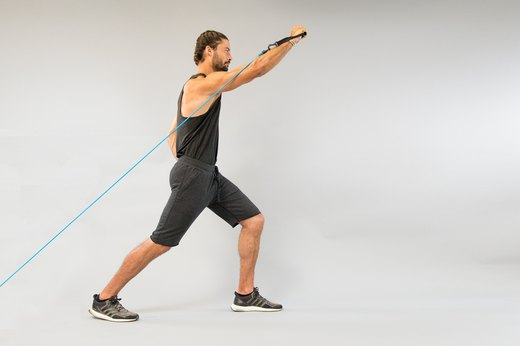 How to Do a One-Arm Incline Band or Cable Press